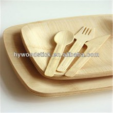 2015 China Wholesale Alibaba One Time Use Bamboo Disposable Plates