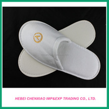 velour hotel slippers with high quality and good price