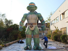 Outdoor Big Inflatable Cartoon ,inflatable promotion turtle,inflatable cartoon characters
