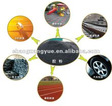 Rubber powder making plant and used tire recycling equipment