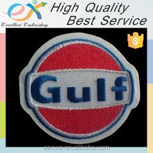 Comercio garantía profesionalmente personalizados no 100% de corte por láser velcro en el logotipo bordado gorras insignias