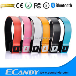 New Arrival Headband CSR 4.0 Microphone Bluetooth headphone portable rechargeable mini headset bluetooth