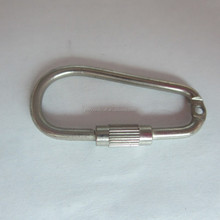 Solid Metal Small Carabiner Hook With Screw In Bulk Price For Wholesale