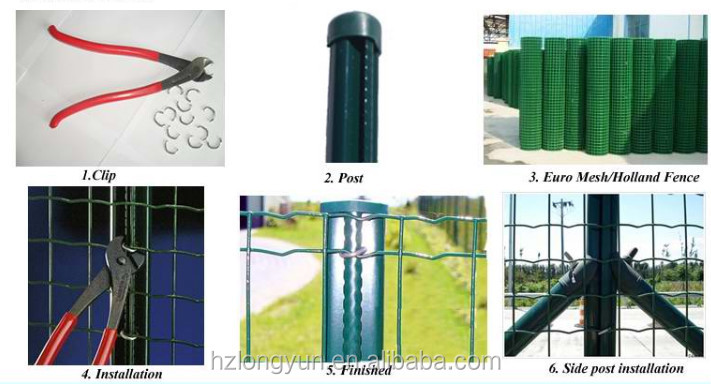 High-Quality Pvc Coated Security Welded Wire Mesh Fence Panel( Factory)