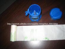 Bolsa de plastico biodegradable certificada estándar EN13432