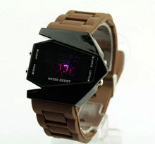 Accept Escrow Plastic Case Jelly Unisex LED Watch Low Price Offer Can Mixed Colors