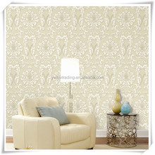home decor manufacturers soundproof high quality non-woven european wallpaper with good quality