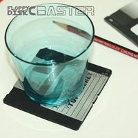 China2014 3.5 Floppy Disk Silicone unique design coaster