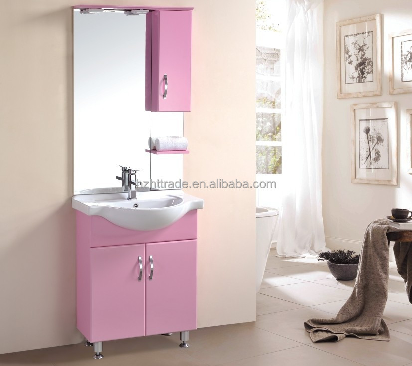 cheap red plastic pvc standing bathroom cabinet vanity buy cheap red
