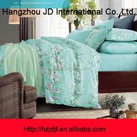 light blue white flowers cotton home textile european duvet cover set designs
