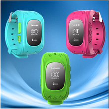 GPS child watch with phone calling kids cell phone watch with sos button men watch 2014