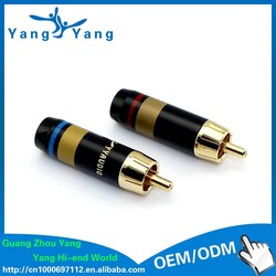 Brand new with cheap price multiple rca connector