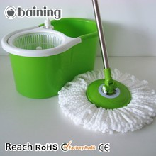 magic mop handle with detergent bottle which can conveniently to clean mop head when using