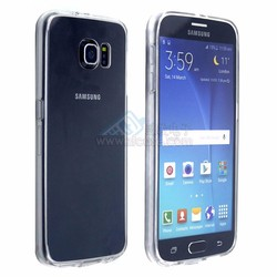 Scratch Resistant Crystal clear case for samsung galaxy s6