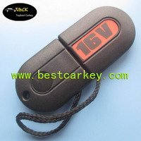 """Good Price transponder key shell for case key vw with """"16V"""" writing on cover"""