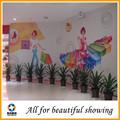 Pintura al óleo en la lona, ancho eco-solvente de fibra química lona para la pared decoración de interiores