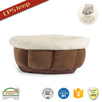 Classic Design Hot Selling Fashion Round Dirt-Proof Polyester Fiber canvas dog bed covers