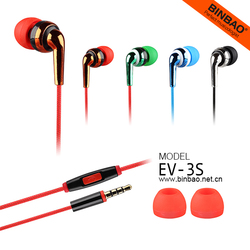 3.5mm Connectors Earbuds and Portable Media Player Use Headphone Earplug