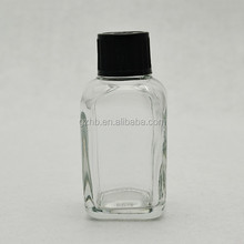hot sale fancy square 50 ml perfume glass bottles/ new design square glass perfume bottle