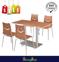 Restaurant Chairs Canteen Plywood Dinning Chair Bentwood chair on Sales