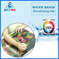 Eco-friendly water based ink for copper printing paper