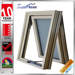 Australia standard double glazed soundproof insulated aluminum awning window container house window