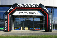 New style start line & finish line arch/ cost-effective inflatable arch for sports