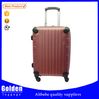 hot selling free logo 2015 factory matured product PP soft shell luggage carry on bags and cases