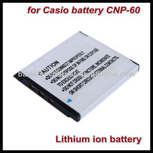 for Casio NP-60 NP60 Rechargeable Li-ion digital camera battery