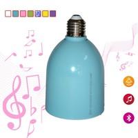 MobilePhone bluetooth Control Bluetooth LED Light Bulb Speaker Bluetooth Speaker LED Light