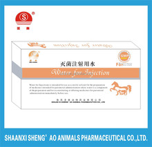 Water for Injection for Veterinary Use with GMP Certificate