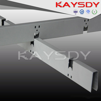 2015 China supplier suspended ceiling grid parts for ceiling tile decorative