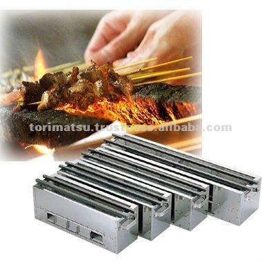 professhonal use yakitori grill equipment for restaurant. Black Bedroom Furniture Sets. Home Design Ideas