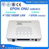 Fttb Epon Onu 4ge epon onu with ZTE chipset