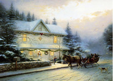CE Certified 2015 lastest ningbo art painting with led light for holiday gift cheap china wholesale