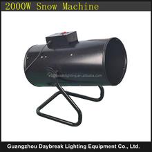 Disco Snow Machine Indoor Outdoor Powerful snow spray jet with Flight case 2000w DJ Night Club Snow