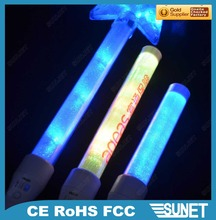 SUNJET best selling item 2016 new products wholesale concert star led flashing stick