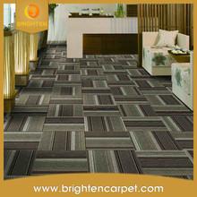 Modern office hotel removable fireproof nylon carpet tile