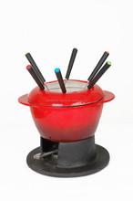 Cast Iron Enamel Round Chafing Dish,Fondue Set