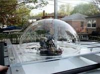 Yuanke clear decoration plastic acrylic dome plexiglass hollow balls