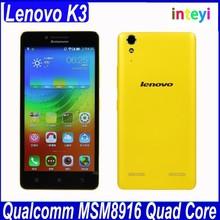 Newest Lenovo K3 K30-W 5.0 inch smartphone Quad Core 1GB RAM 16GB ROM Android4.4 4G FDD/TD-LTE Mobile phone