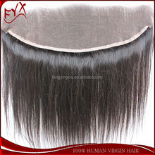 Stock Natural Color Body Wave100% Brazilian Virgin Hair Ear To Ear 13x4 Full Lace Frontal Closures