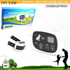 Patent Design White Wireless Dog Fence Systems with Shock Training Collar