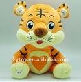 Tigre de peluche, suave de la felpa juguetes, animales de peluche de juguete