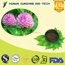 Best price of Red clover P.E. 40% Total isoflavones CAS: 85085-25-2