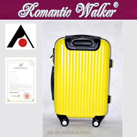 Manufacturers Factory wholesale 4 spinner caster ABS+PC trolley suitcase