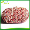diamante metal fashion hard case skull evening bags wholesale