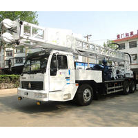 top drive head portable water well drilling rig, tractor mounted water well drilling rig with good quality
