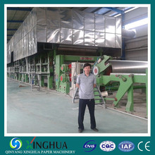 XINGHUA 4300mm high performance case board paper making machine, 250 Tons per day