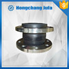 high pressure flexible neoprene rubber couplig bellow with flange